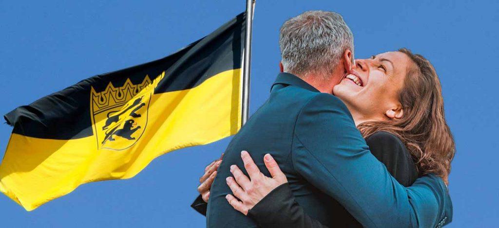 Paar aus Baden Württemberg